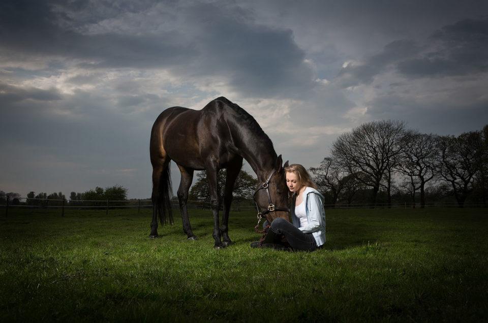 Christie & Blossom – Horse Photography Lancashire